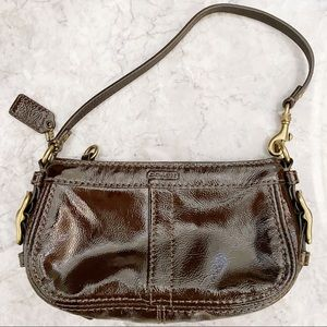 Coach Patent Leather Mini Bag